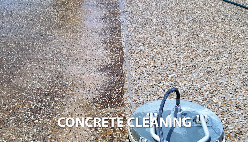 concrete cleaning Pittsford NY