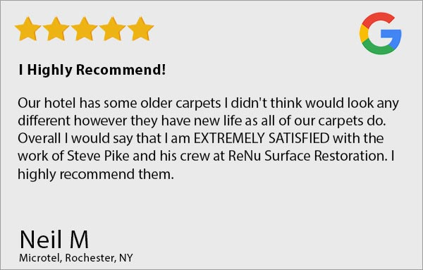 ReNu Floor Care Customer Reviews