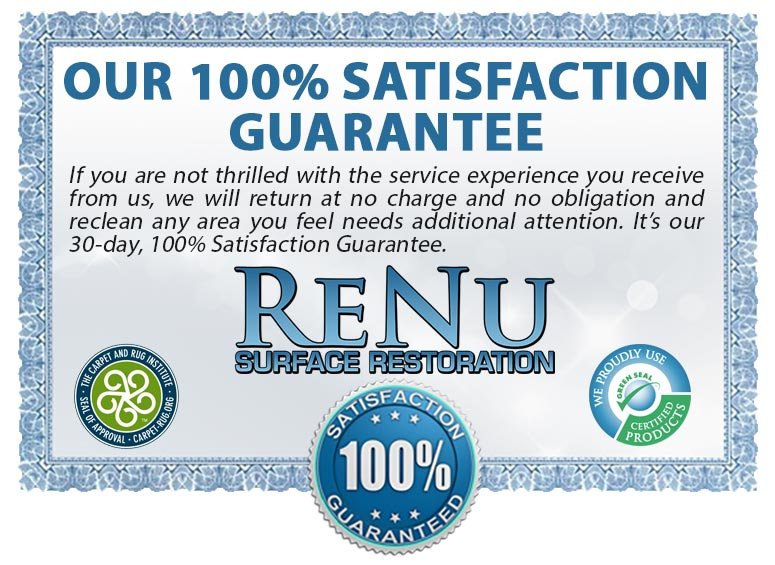 Renu Floors Service Guarantee